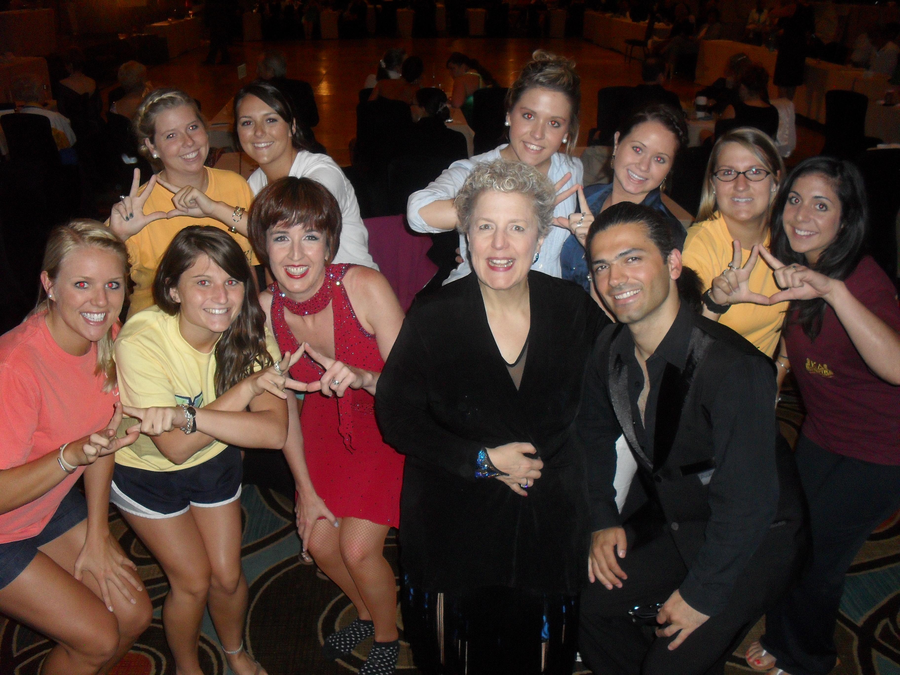 Kappa Deltas, meet ballroom dancers. Dancers, meet KD!