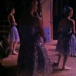 Village Girls backstage