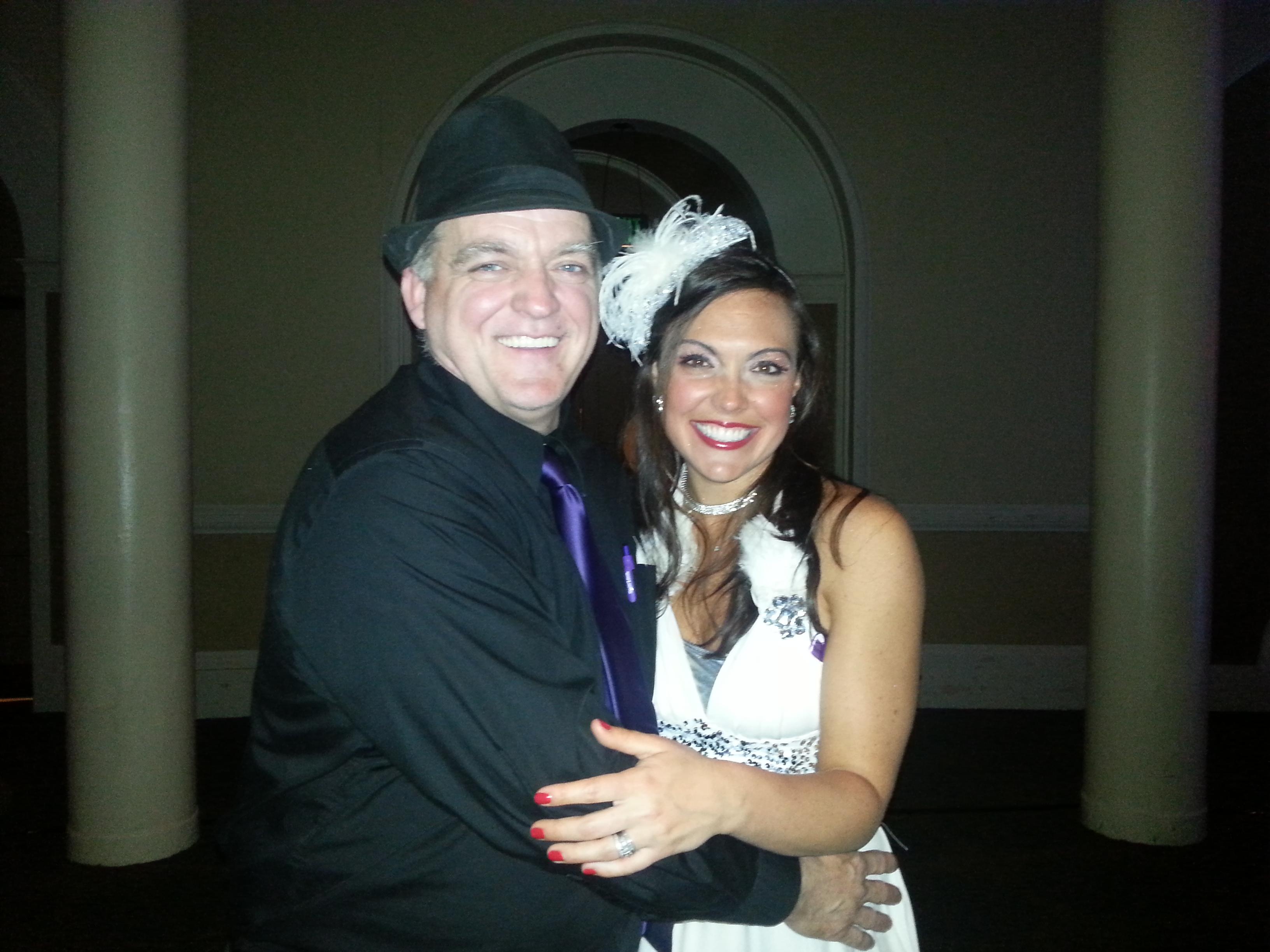 Daniel with Courtney Swift, 2012 Judges' Choice winner